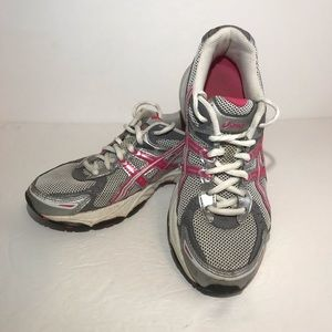 ASICS Gel Cadence 2 Running Shoes Womens 7 Silver